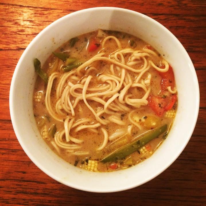 Sarah's Thai Noodle Soup